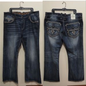 Rock Revival Dan Relaxed Straight jeans 42 x 33